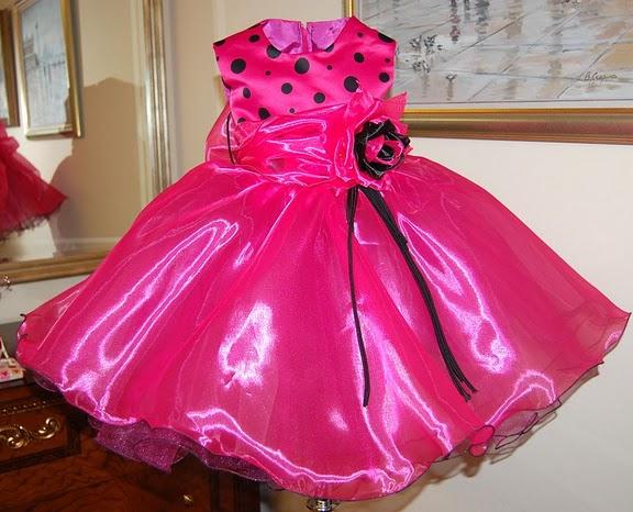 Осинки нарядные платья