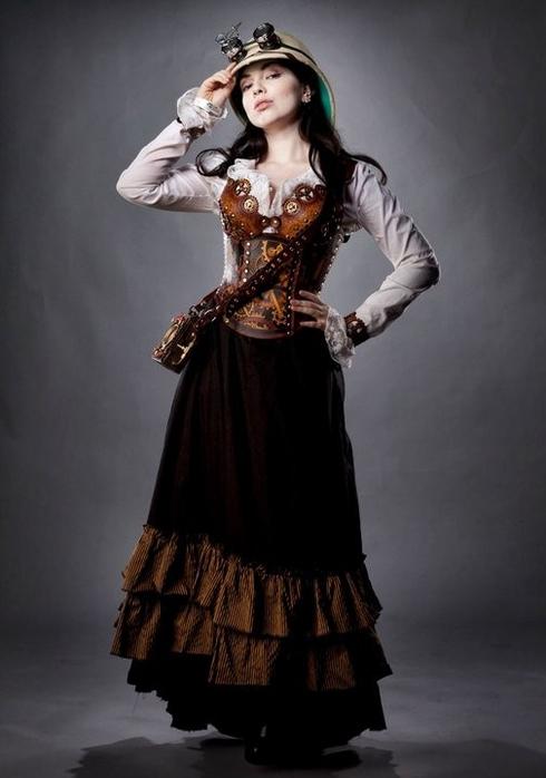 Стимпанк платья своими руками