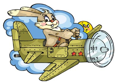 Картинка на 23 февраля самолет