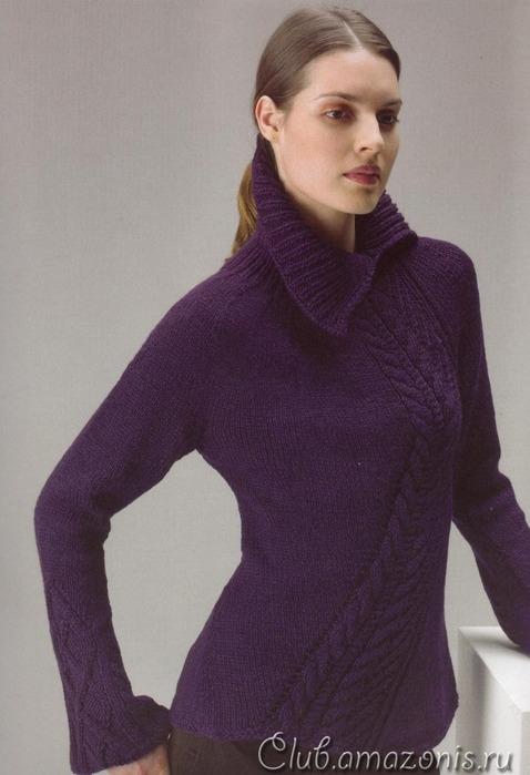 pulover-s-uzorami-aranovaya-i-rombovidnaya-kosa (478x699, 84 Kb)