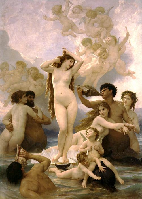 Рождение Венеры, 1879