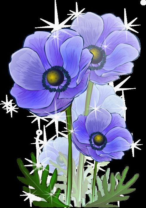 Нарисованные цветы (клипарт). Обсуждение на LiveInternet ...