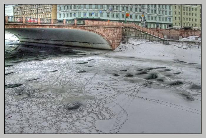 Большая Ордынка. Мост через Обводной канал