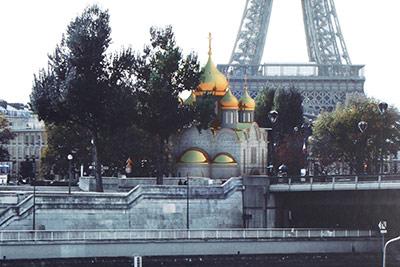 Работа коллектива под руководством Елены Ленок (Россия) Храм в Париже
