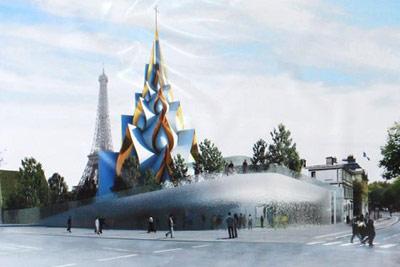 Архитектор Дюмон Легран (Франция) Храм в Париже