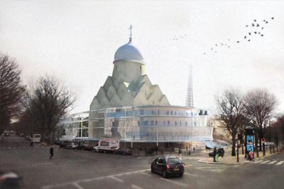 Архитектурно-реставрационная мастерская «ВЕГА» (Россия) Храм в Париже