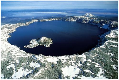 самое глубокое озеро в США