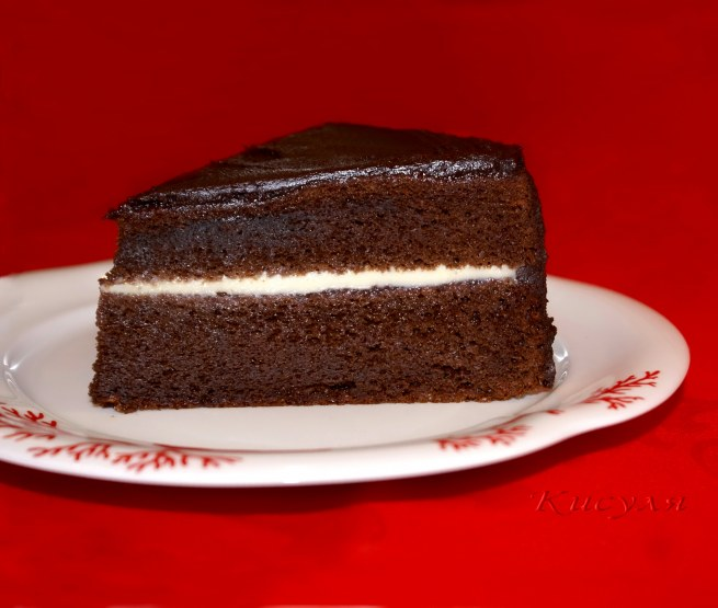 шоколадный французкий торт