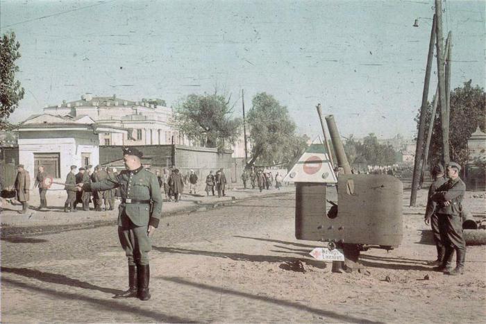 """Киев и его """"гости""""."""