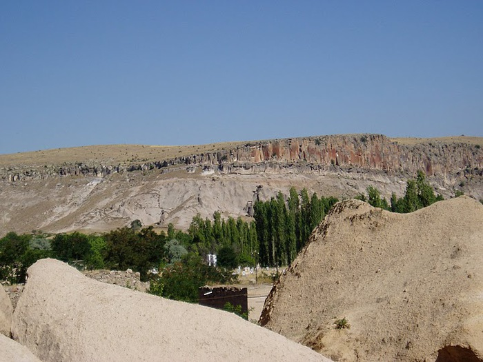 вырубленный в скалах - монастырь Селиме (Selime) 83339