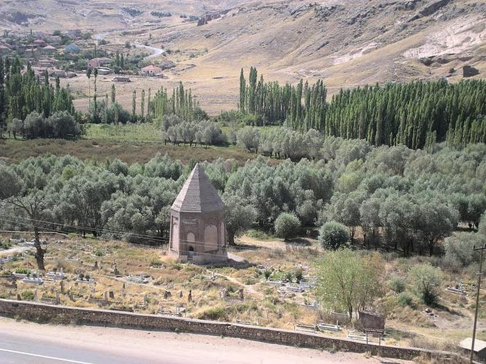вырубленный в скалах - монастырь Селиме (Selime) 55505