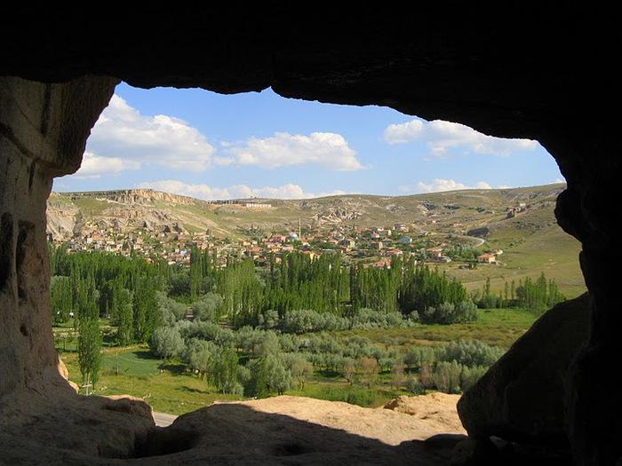 вырубленный в скалах - монастырь Селиме (Selime) 93968