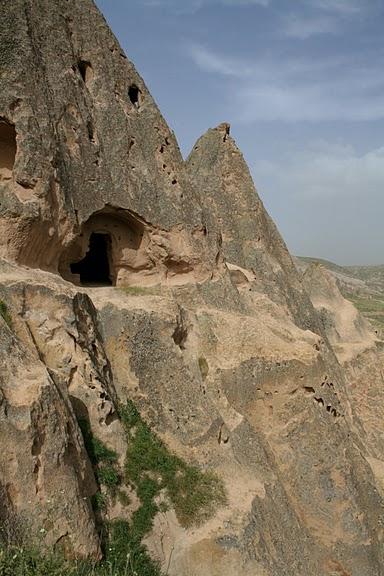 вырубленный в скалах - монастырь Селиме (Selime) 30624