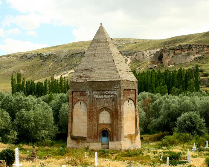 вырубленный в скалах - монастырь Селиме (Selime) 53359