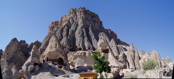 вырубленный в скалах - монастырь Селиме (Selime) 45545