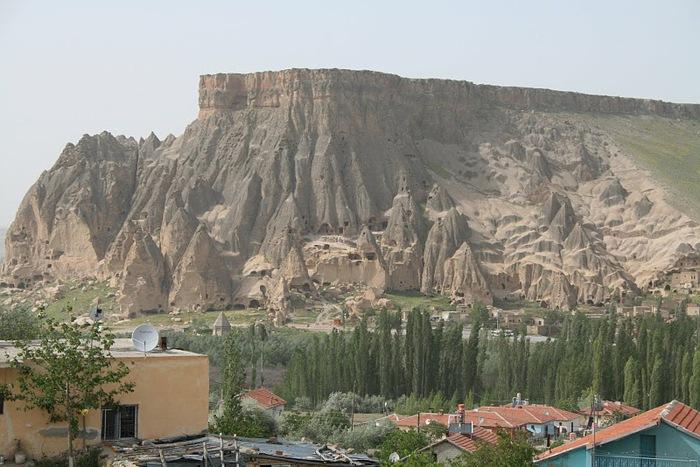 вырубленный в скалах - монастырь Селиме (Selime) 53813