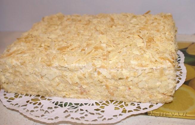 """Торт """"Наполеон закусочный"""""""