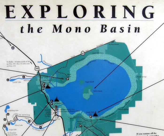 Озеро Моно - Mono Lake, 10797
