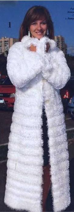 Вязание из травки куртка