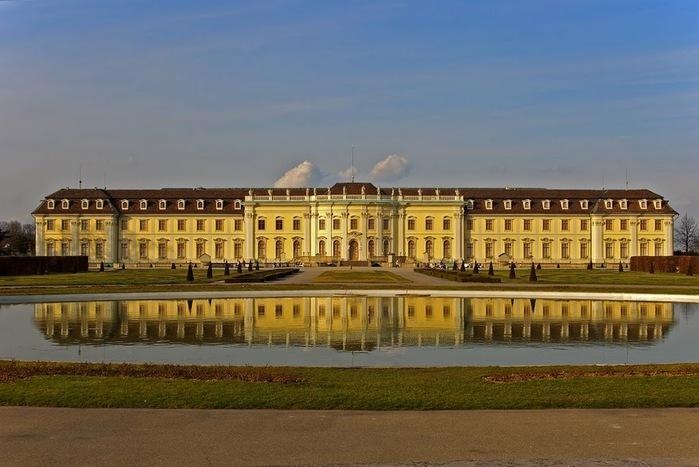 Людвигсбургский замок-резиденция. 71904