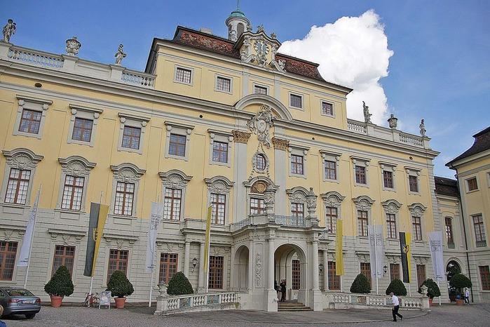 Людвигсбургский замок-резиденция. 57086