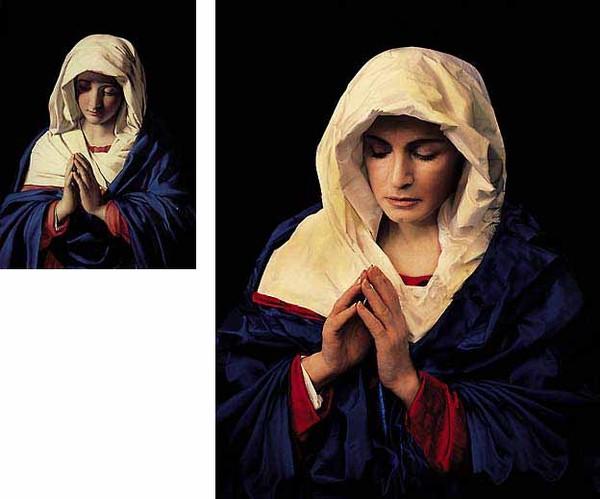 """""""Молящаяся Дева Мария""""."""