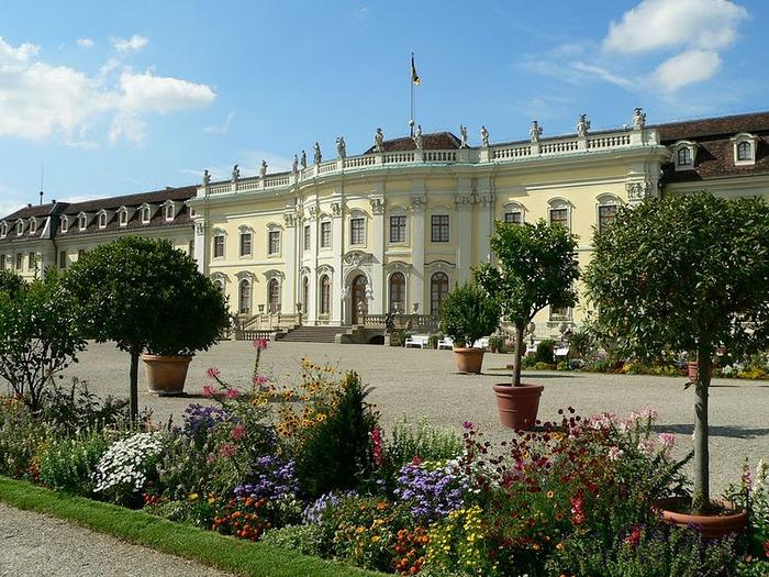 Людвигсбургский замок-резиденция. 67555