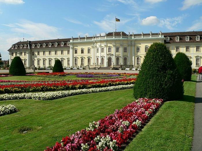 Людвигсбургский замок-резиденция. 58581