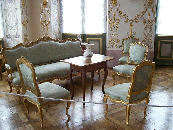 Людвигсбургский замок-резиденция. 15913