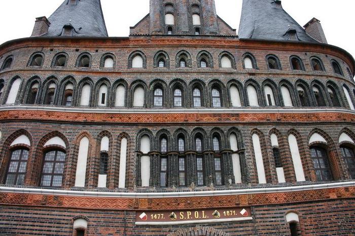 Голштинские ворота - Holstentor -Любек 30339