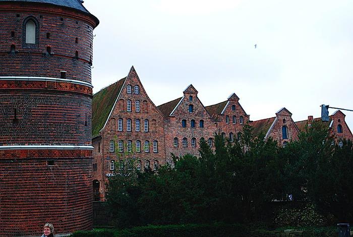 Голштинские ворота - Holstentor -Любек 69673