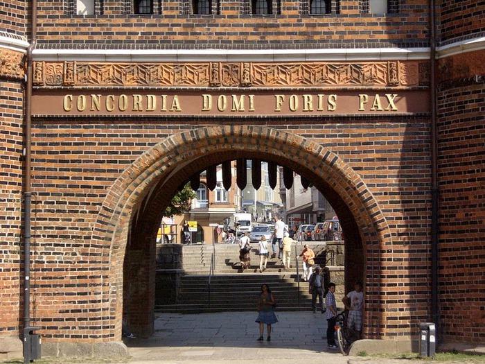 Голштинские ворота - Holstentor -Любек 98391