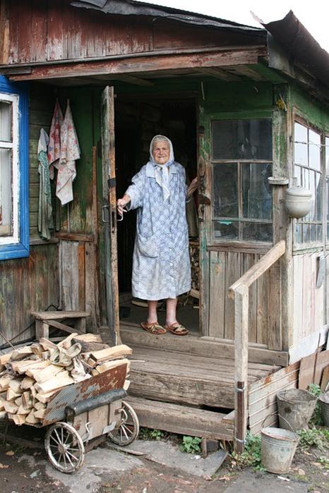 старые деревни фото