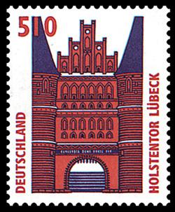 Голштинские ворота - Holstentor -Любек 69568