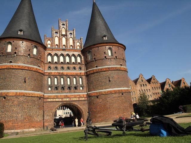 Голштинские ворота - Holstentor -Любек 39559
