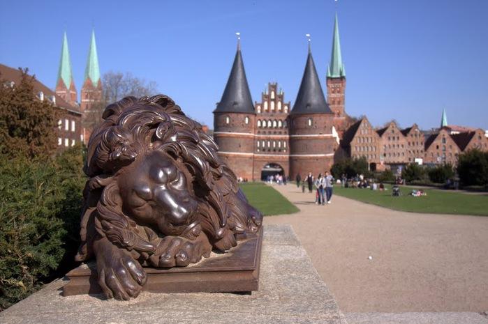 Голштинские ворота - Holstentor -Любек 62249