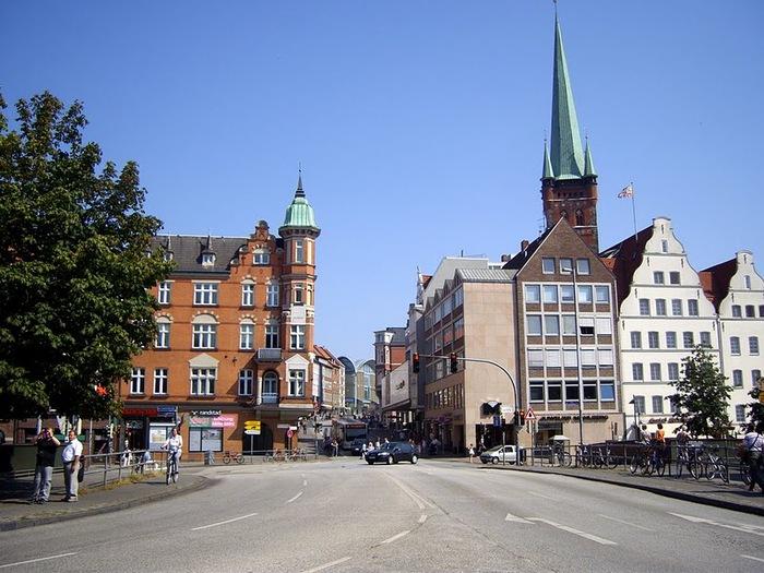 Голштинские ворота - Holstentor -Любек 92694