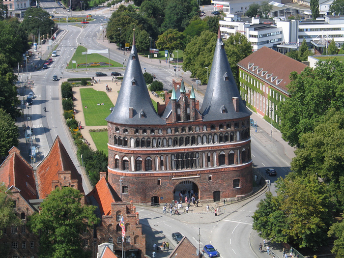 Голштинские ворота - Holstentor -Любек 36346