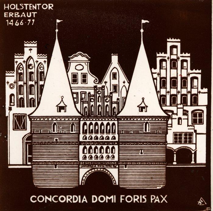 Голштинские ворота - Holstentor -Любек 43269