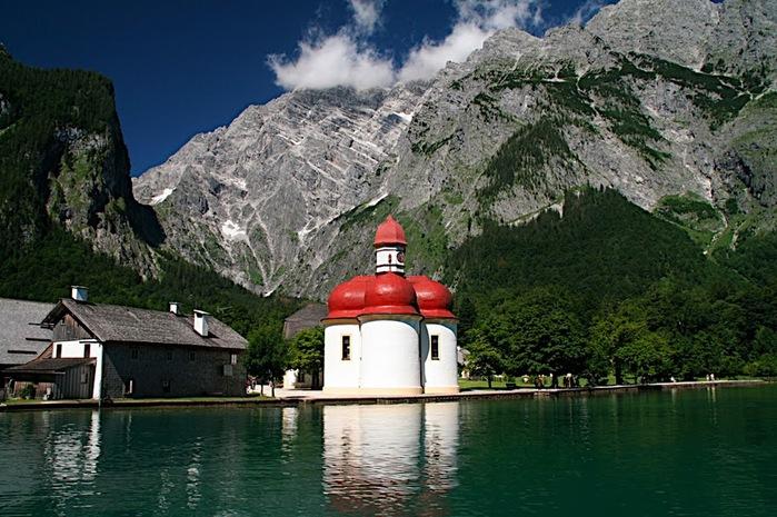 Озеро Кёнигсзе - Bayern. 34867