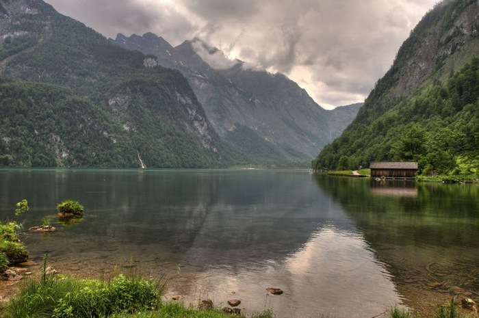 Озеро Кёнигсзе - Bayern. 87686
