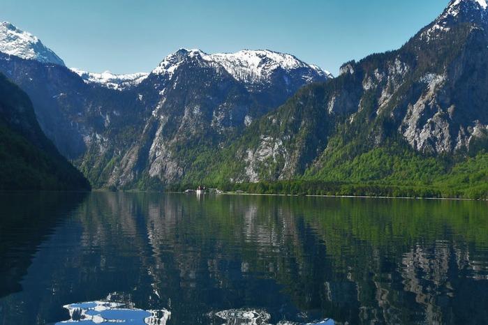 Озеро Кёнигсзе - Bayern. 10426