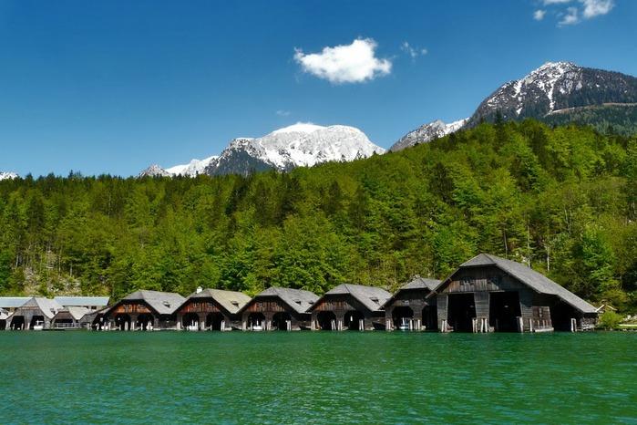 Озеро Кёнигсзе - Bayern. 45933