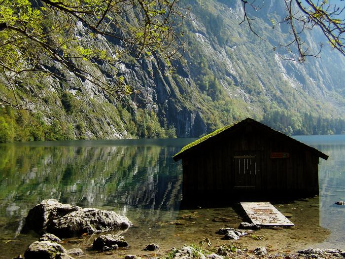 Озеро Кёнигсзе - Bayern. 82793