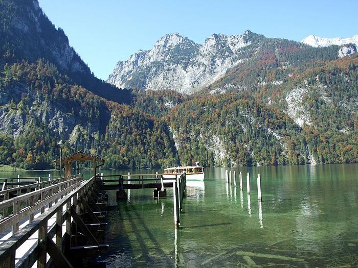 Озеро Кёнигсзе - Bayern. 31900