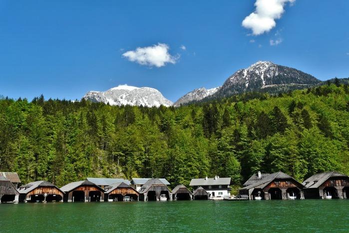 Озеро Кёнигсзе - Bayern. 76798
