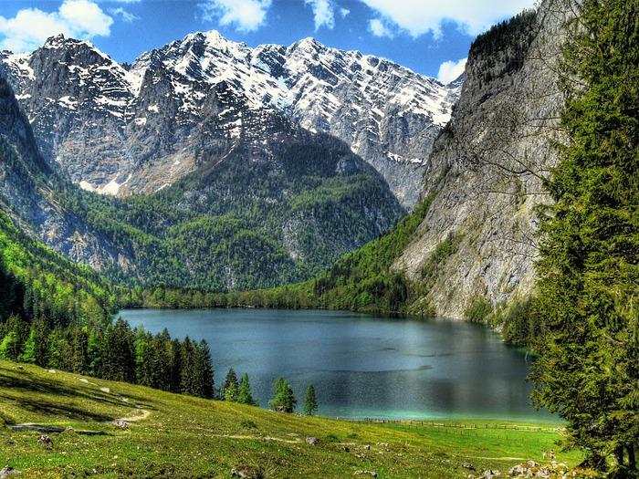 Озеро Кёнигсзе - Bayern. 90703