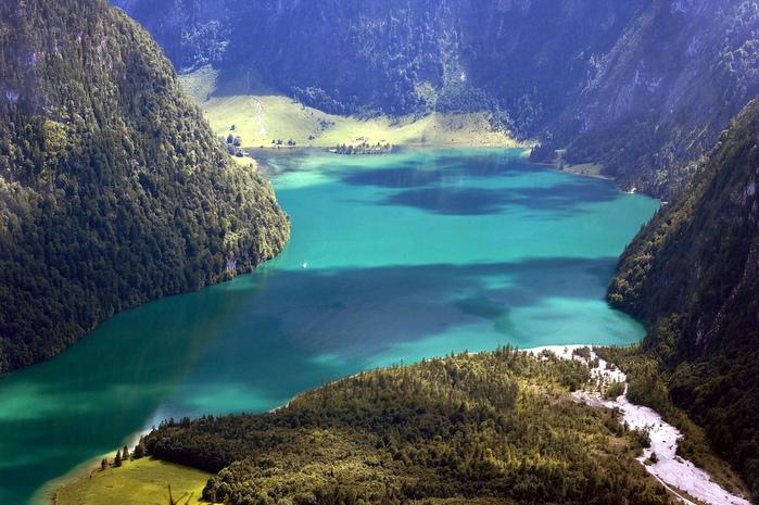 Озеро Кёнигсзе - Bayern. 37248
