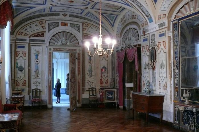Замок г. Мазино - Castello di Masino, Italia 17042
