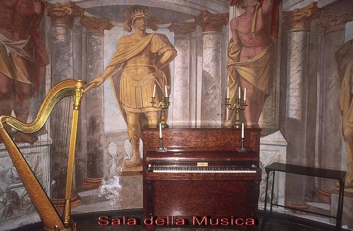 Замок г. Мазино - Castello di Masino, Italia 82433